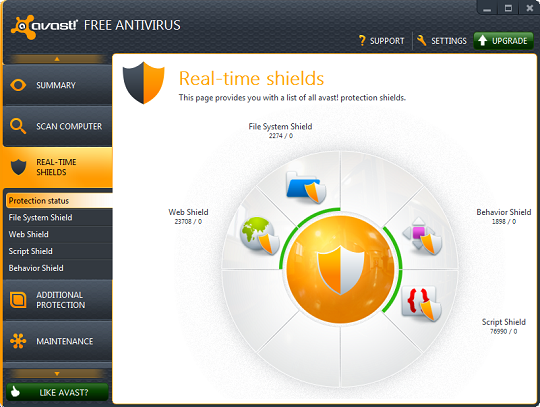 Download Avast 7 free edition - antivirus gratuit