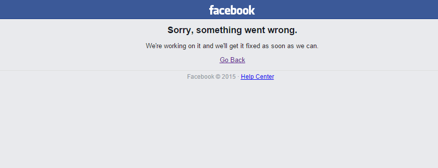 facebook down - photo #23