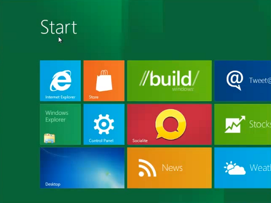 Instalare Windows 8 finalizata