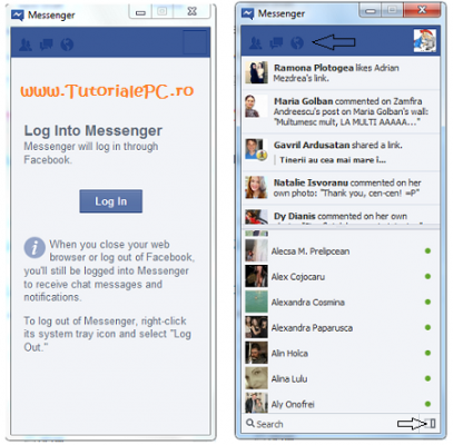 Facebook Messenger pentru Windows