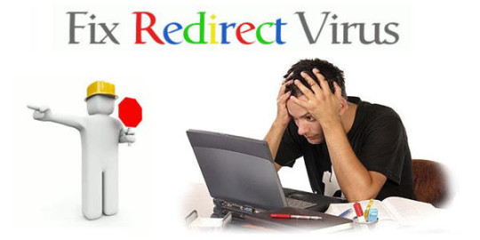Virus redirect home page
